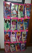 Lot Of 16 Dolls Of The World Nrfb 19931994199520062011andnbspspecial Collector Ed.