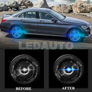 Floating Led Hub Light Wheel Center Caps Light Fit For Mercedes Benz 75mm