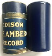 Antique 1915 Somebody Knows Comic Duet Song Edison Blue Amberol Cylinder 2753