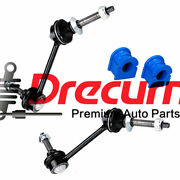 4pc Sway Bar Link And Bushing Set For 03-11 Crown Victoria Mercury Grand Marquis