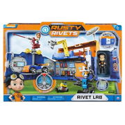 Rusty Rivets Collapsible Lab And Action Figure 2pc Play Set Ages 3+