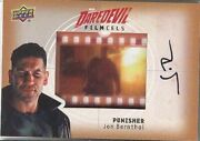 Daredevil Seasons 1 And 2 Fc-pu Jon Bernthal The Punisher Film Cels Autograph Card