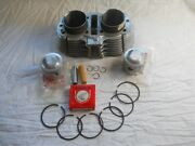 Honda Nos Cb450 Cl450 Cylinder Pistons Rings Pins Clips Set 12100-292-020. Ds