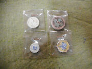 D438. Four4 Old Ceramic Chinese Coins/ Tokens