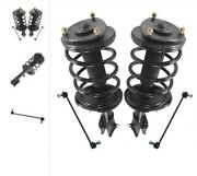 Upper Strut Mount, Strut Bearing, Coil Spring, Boot And Bumper Kit, And...