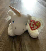 Rare Authenticated 2nd/1st Gen Tags Mystic Fine Mane 4007 Ty Beanie Baby