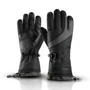 Winter -30℃ Warm Gloves Motorcycle Bicycle Ski Mountaineering Gloves Double Dept