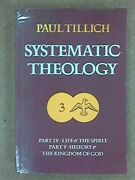 Systematic Theology Life And The Spirit History ... By Tillich, Paul Paperback