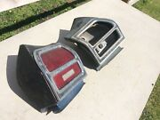 1969 Chevelle Taillight Housings And Lenses Malibu Ss 396