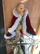 """19"""" Franklin Mint Bert Lahr The Cowardly Lion In The Wizard Of Oz"""