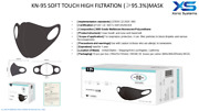 Reusable Soft Touch High Filtration Mask 95.3 Pricing Per 500 Mask Bundle