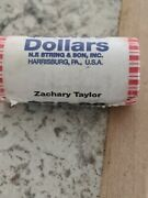 25 Roll Gold 1 Us Coins Zachary Taylor Currency 2009 25-one Dollar Coins