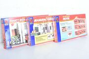 Lot Of 3 Life-like Ho Scale Train Layout Building Kits Unassembled