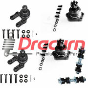 6pc Sway Bar Links Upper Lower Ball Joint Set For Nissan D21 Pickup 4wd