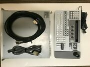 Sony Brs-200 Production Video Switcher With The Processor And 8 Sdi Inputs