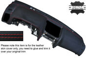Red Stitch Dash Dashboard Leather Cover Fits Nissan Skyline R34 Gtr Gt-t 98-02