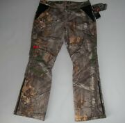 Under Armour Realtree Camo Extreme Hunting Insulated Pants Womens Sz 12 240 New
