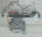 1965 Chrysler Imperial Am Fm Radio W/bezel Antenna And Rear Speaker Switches 65