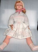 Rare Vintage Large Celluloid Doll, Italy, Not Marked, Damaged/disjointed