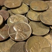 50 Mixed Date United States Wheat Cent Penny Lot - Mixed Dates