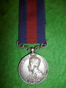 Indian Distinguished Service Medal For South Persia To Civil Surgeon Casualty