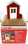 Hard To Get In Australia Vintage Lionel O Scale 6-2127 Diesel Horn Shed + Box