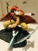 One Piece White Beard Vs Red Dog Painted Figure