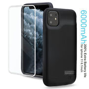 Power Case For Apple Iphone 11 X 8 7 6 5 Back Charging Battery Cover Slim Design