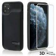 External Charger 6000mah Battery Slim Case For Apple Iphone 5 6 7 8 11 Xr Xs Max