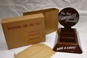 Vintage Match Display For Our Matchless Friends - Have A Light New In Box - Nib