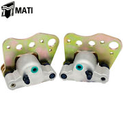Front Brake Calipers For Polaris Magnum 325 330 500 2x2 4x4 2000-2004 With Pads
