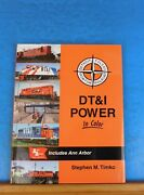 Dtandi Power In Color Detroit, Toledo And Ironton Rr By Timko Morning Sun Books