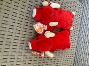 Tabasco And Snort Ty Beanie Baby Set Mismatched Tag Upc008421040025