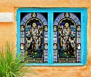 3d Priest Faith A361 Window Film Print Sticker Cling Stained Glass Uv Amy