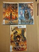A Clash Of Kings 5 6 14 B Comic Book Dynamite Comics Nm Lot Game Of Thrones