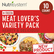 10 Ct Frozen Meat Lovers Dinners Lunch Diet Variety Pack Balance Nutrition Meal