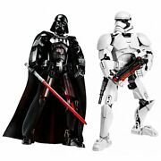 Figure Star Wars Buildable Darth Vader Stormtrooper Action Toy Kid Toys Figures