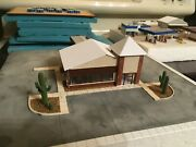 N Scale Building Kits Bank Kit With Drive Thru