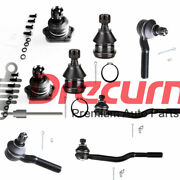 8pc Front Ball Joint Tie Rod Ends Kit For Nissan 95 - 97pickup Rwd 86-94 D21 Rwd