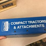 Cub Cadet Ih Compact Tractor And Attachments Parts Manual Catalog Book Guide List