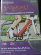 Spinervals 5.0 Fitness Amplifier With Iron Girl Cardio Cycling Workout Dvd Spin