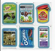2013 Topps Wacky Packages Ans Series 11 Blue Set With A And B Backs 110 Cards