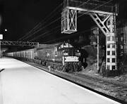 Old Train Photo Freight Train Carrying Cars Essex 1963 Locomotive 14m17