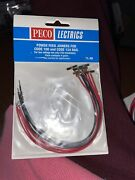 Peco Lectrics Pl-80 Power Feed Joiners - Code 100 And 124 Rail