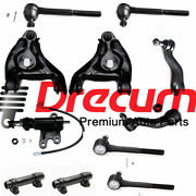 11pc Control Arm Ball Joint Tie Rod Pitman Idler Arm Set For Gmc Chevrolet 2wd