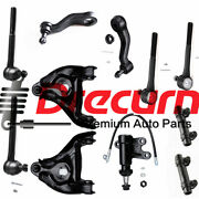 11pc Control Arm Ball Joint Tie Rod Pitman Idler Arm Kit For Gmc Chevrolet 2wd