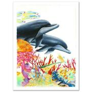 Sea Of Color Limited Edition Giclee On Canvas 29.5