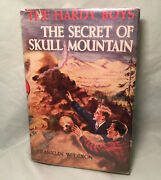 Hardy Boys 27 The Secret Of Skull Mountain 19th Printing 1957 Book Dust Jacket