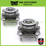 2 Front Wheel Bearing And Hub For 2007 2008 2009 2010 2011 2012 Nissan Sentra 2.0l