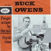 Buck Owens Iand039ve Got A Tiger By The Tail Rare 1965 Or. Holland Single Nice Cond.